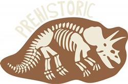 Prehistoric Bones Print Art