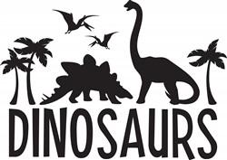 Dinosaurs Print Art