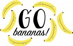 Go Bananas Print Art