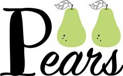 Pears Print Art