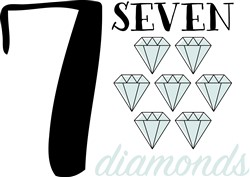 Seven Diamonds Print Art