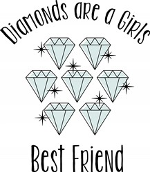 Girls Best Friend Print Art