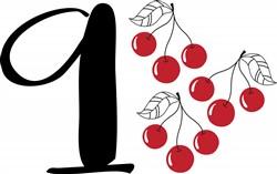 9 Cherries Print Art