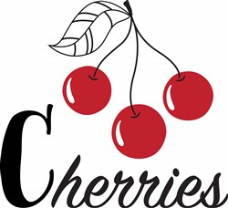 Cherries Print Art