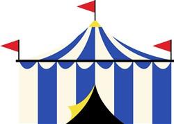Circus Tent Print Art