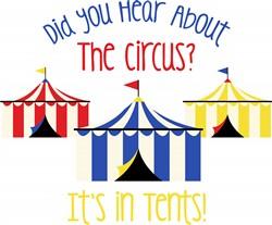 Hear About Circus Print Art