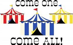 Come All Circus Print Art