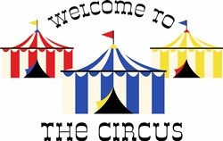 Welcome To Circus Print Art