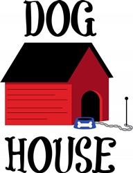 Dog House Print Art