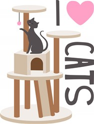 Love Cats Print Art