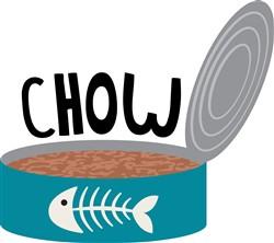 Cat  Chow Print Art
