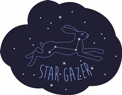 Star Gazer Print Art