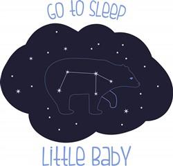 Sleep Little Baby Print Art