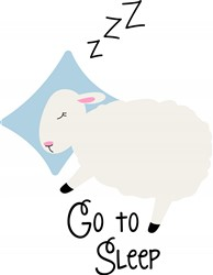Go To Sleep Print Art