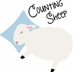 Counting Sheep Print Art
