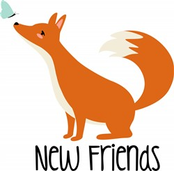 New Friends Print Art