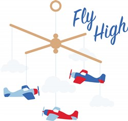 Fly High Print Art