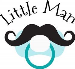 Little Man Print Art