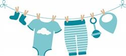 Baby Laundry Print Art