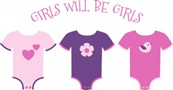 Will Be Girls Print Art