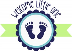 Welcome Little One Print Art