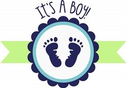 Its A Boy Print Art