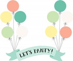 Lets Party Print Art