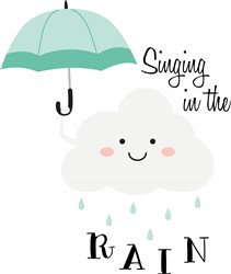 Singing In Rain Print Art