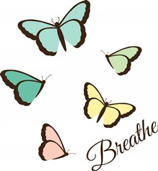Butterflies Breathe Print Art