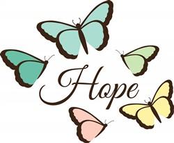 Butterflies Hope Print Art