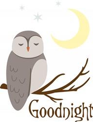 Goodnight Owl Print Art