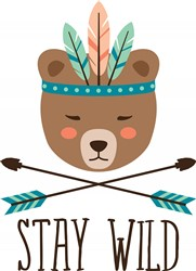 Stay Wild Print Art