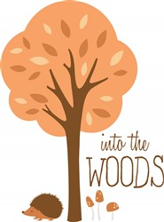 Into The Woods Print Art