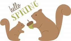 Hello Spring Print Art