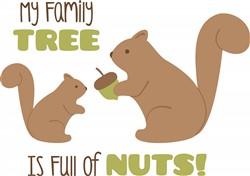 Tree Nuts Print Art