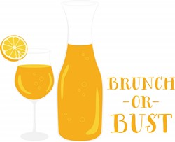 Brunch Or Bust Print Art