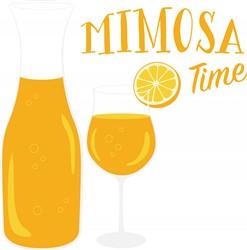 Mimosa Time Print Art