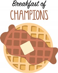 Breakfast Of Champions Print Art