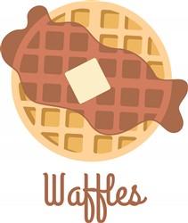 Waffles Print Art
