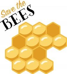 Saves The Bees Print Art