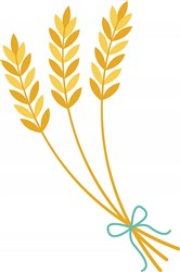Wheat Stalks Print Art