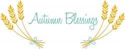 Autumn Blessings Print Art