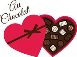 Au Chocolat Print Art
