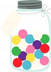 Bubble Gum Jar Print Art