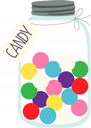 Candy Jar Print Art