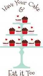 Have Cupcake Print Art