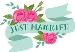 Just Married Print Art