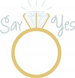 Say Yes Print Art