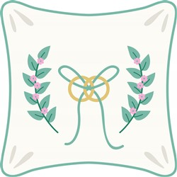 Ring Pillow Print Art