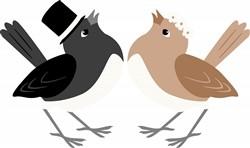 Wedding Birds Print Art